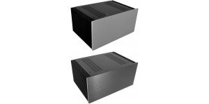 Kühlkörper Gehäuse mit 10mm Frontplatte, Tiefe 300mm