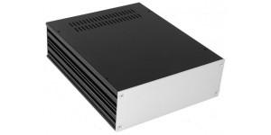 Gehäuse Serie-S mit 3mm-Frontplatte, Höhe: 80mm