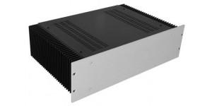 Kühlkörper Gehäuse mit 4mm- Front, Höhe 120mm