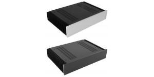 Kühlkörper Gehäuse mit 10mm-Frontplatte, Höhe 80mm