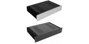 Kühlkörper Gehäuse mit 4mm- Front, Höhe 80mm