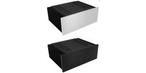 Kühlkörper Gehäuse mit 10mm-Frontplatte, Höhe 120mm