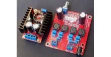 Power Mini - Stereoendstufe 2x50W